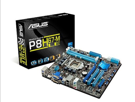 Asus H67 P8H67-M LE otherboard
