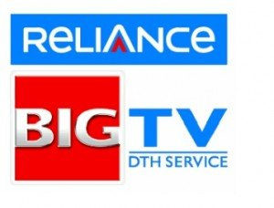 reliance big tv