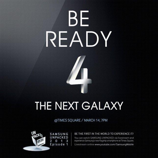 galaxy s iv invite