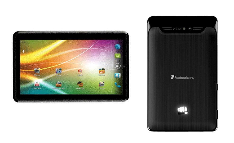 micromax tablet with voice calling