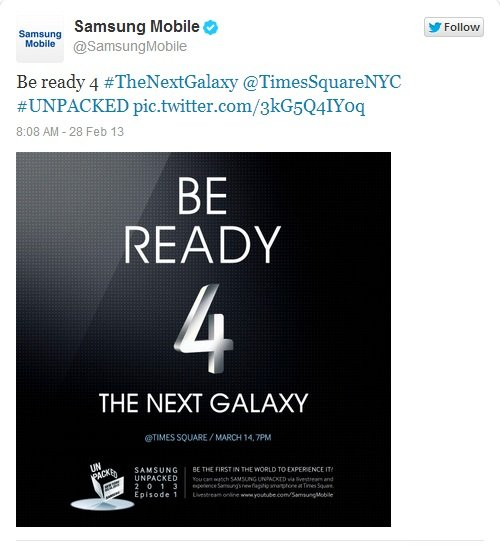 galaxy s iv launch
