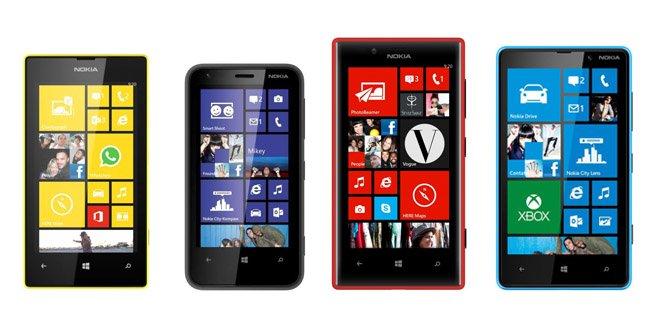 lumia 520 vs 620 vs 720 vs 820