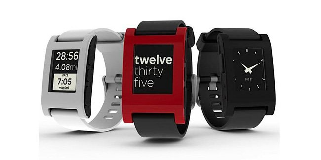 Not to be confused with the Google smartwatch that this article talk's about, this is the Pebble smartwatch which is already available in the market.