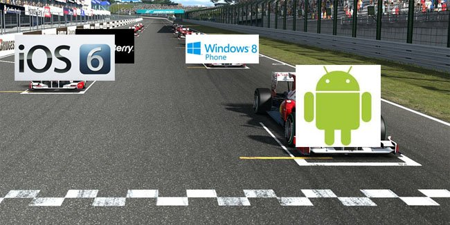 smartphone os race