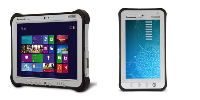 panasonic rugged tablets
