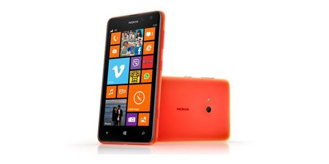 lumia 625 with 4.7 inch display