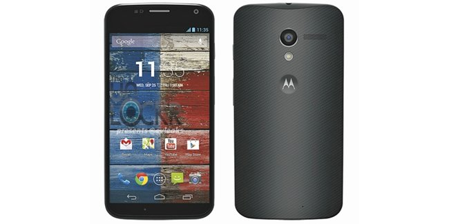 Moto X makes another appearance in a leaked press render