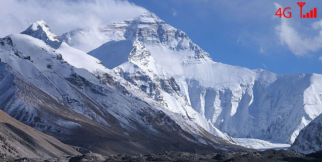 mount everest base camp gets 4g connectivity