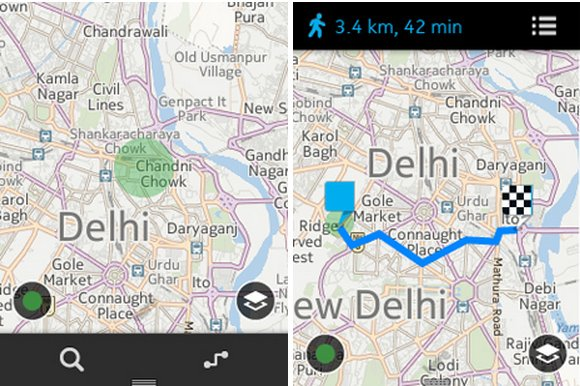 Here maps arrive on nokia asha 501 beta release available for download nokia here maps arrive on asha 501 gumiabroncs Choice Image
