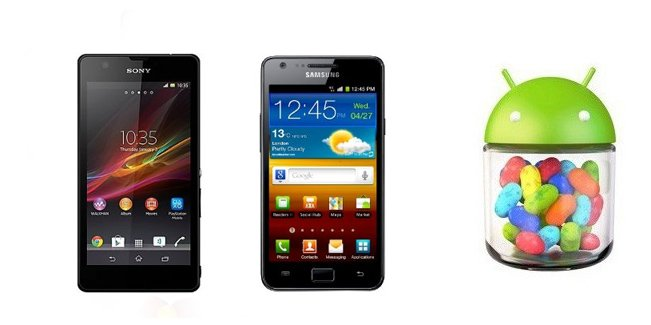 Samsung Galaxy SII Plus, Sony Xperia ZR now getting the Android 4.2.2 update in certain regions