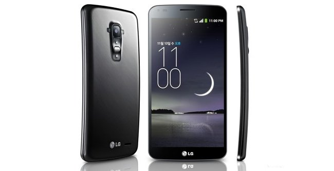 LG G Flex takes on Samsung Galaxy round with its 6 inch curved OLED display