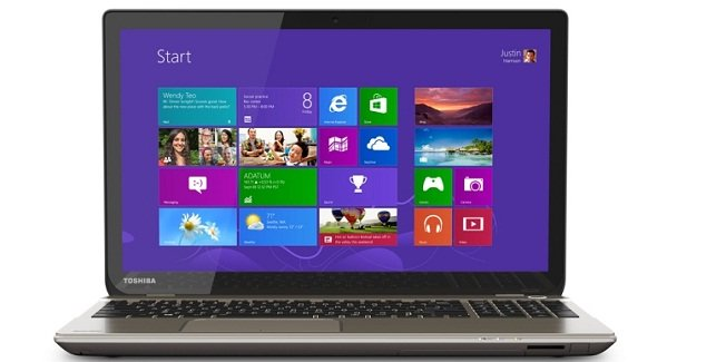 toshiba satellite with 4k uhd display