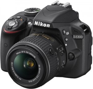 Best DSLR cameras under Rs 25,000 in India - d3300