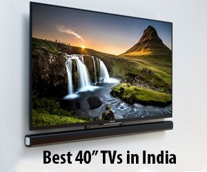 best 40 inch tv in india