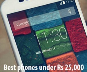 best phones under rs 25000