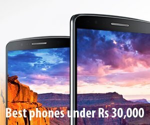 best phones under rs 30000 in India