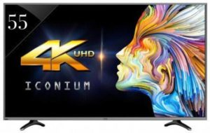 Best 55 inch LED TVs in India - LTDN55XT780XWAU3D