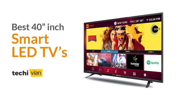 Best 40 inch Full HD Smart LED TVs in India - Techivian
