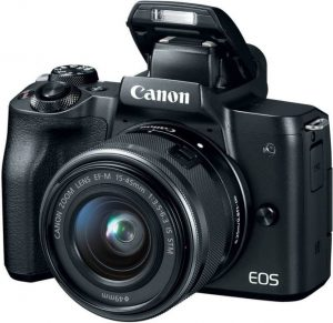 Canon EOS M50 Mirrorless Camera (24.1 MP)