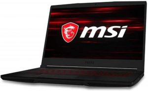 MSI Gaming GF63 Thin 9RCX-648 Laptop