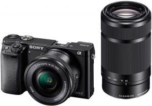 Sony Alpha A6000 Y Mirrorless Camera (24.3 MP)