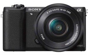 Sony Alpha ILCE5100L Mirrorless Camera (24.3 MP)