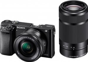 Sony Alpha ILCE 6000L Mirrorless Camera (24.3 MP)