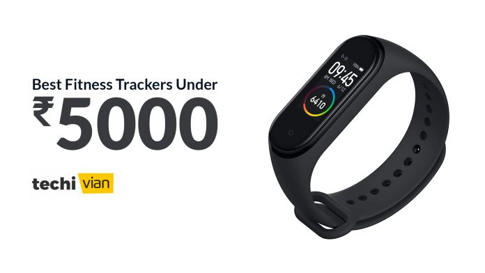 Best Fitness Trackers in India 2020 - Techivian