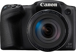 Canon PowerShot SX430 Point and Shoot Camera (20 MP)