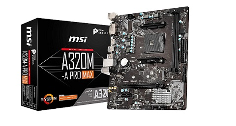 MSI A320M-A PRO Gaming Motherboard