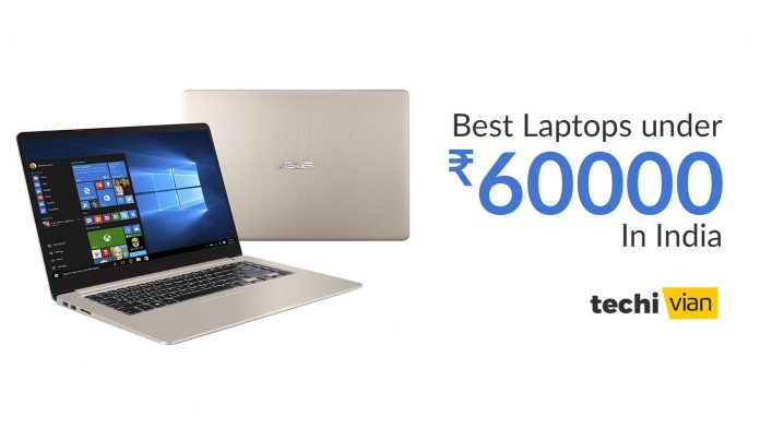 Best Laptops under 60,000 in India