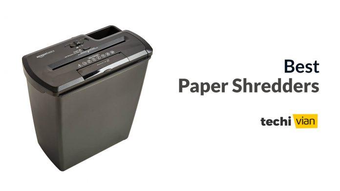 Best Paper Shredders in India - Techivian