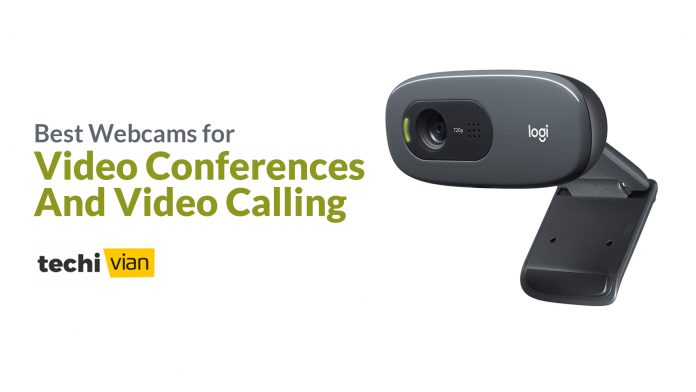 Best Webcams for Video Conferences and Video Calling in India 2020-Techivian