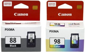 Canon PG-88 and CL-98 Ink Cartridge Combo