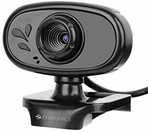 Zebronics Crystal Pure Webcam