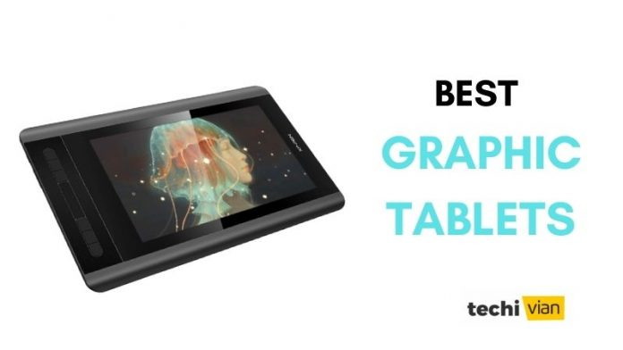 Best Graphic Tablets in India - techivian