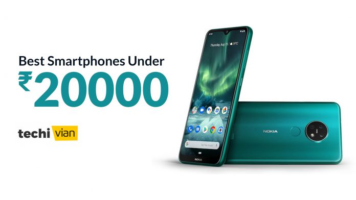 Best Smartphones Under 20000 in India 2020 - Techivian