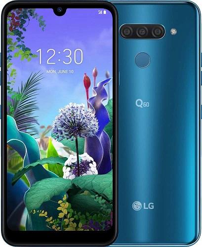 LG Q60 smartphone