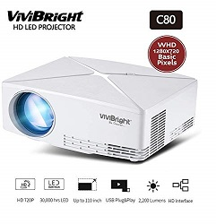 Vivibright C80 2200LM HD Projector