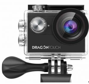 Dragon Touch Vision4 4K Action Camera (20 MP)