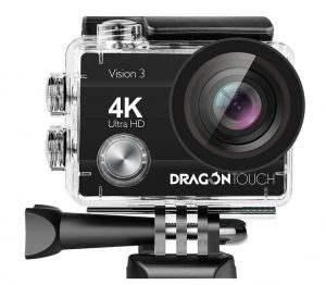 Dragon Touch Vision3 4K Action Camera (16 MP)