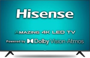 Hisense 108 cm (43 inches) 4K Ultra HD Smart Certified Android LED TV