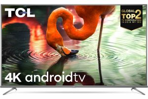 TCL 50P8E 4K UHD Smart LED TV (50 Inch)