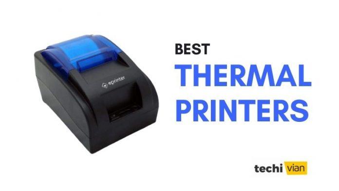 Best Thermal Printers in India - Techivian