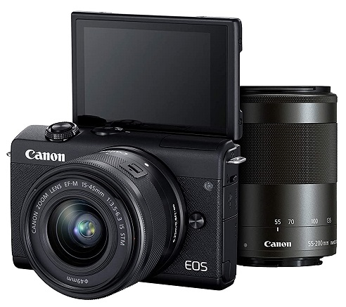 Canon EOS M200 Mirrorless Camera