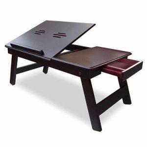 Ebee Brown Laptop Table