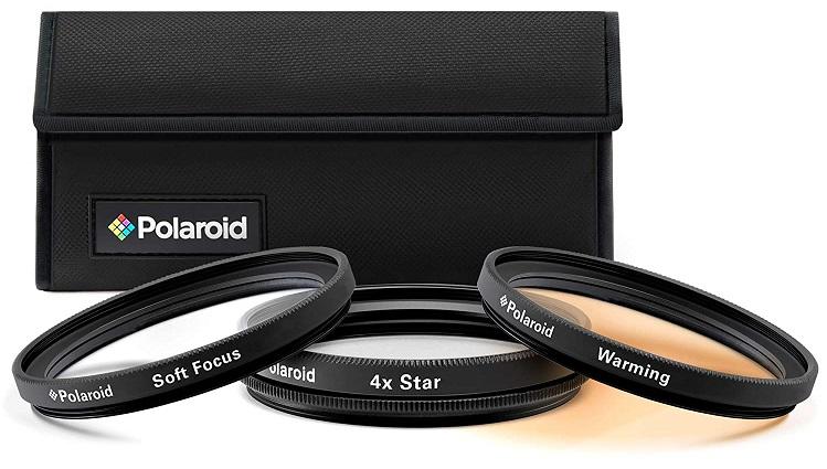Polaroid Optics 62mm Special Effect Filter Kit