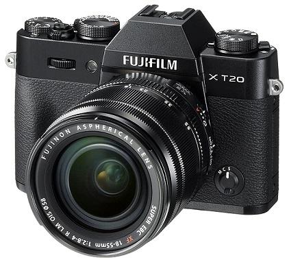 Fujifilm X-T20 24 MP Mirrorless Camera