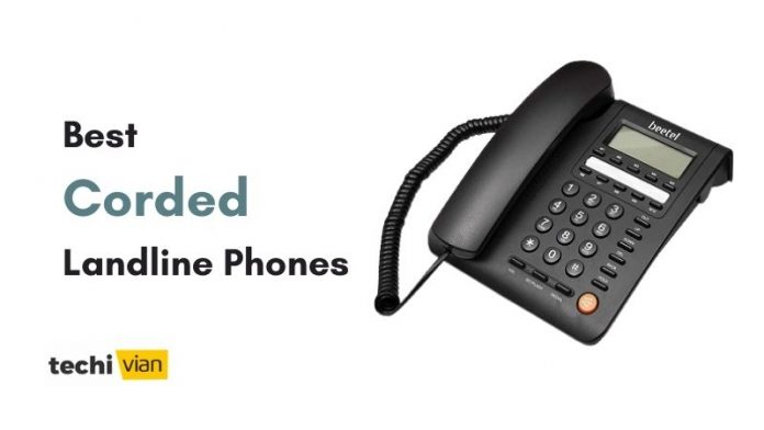Best Corded Landline Phones in India - Techivian