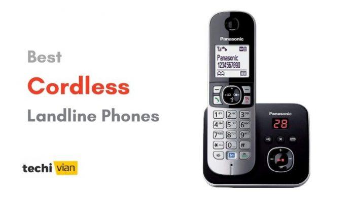 Best Cordless Landline Phones in India - techivian
